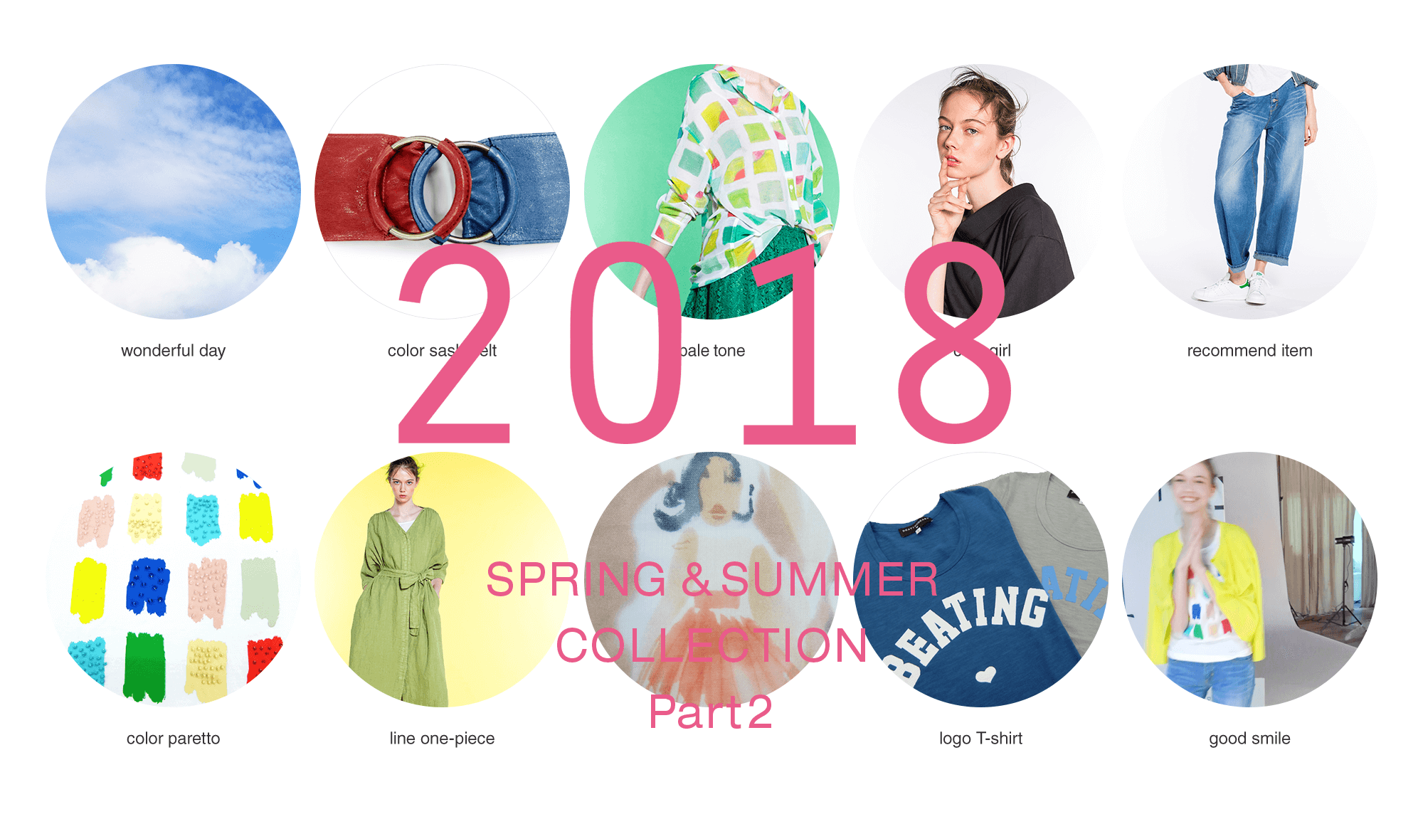 BEATING HEART 2018 SPRING & SUMMER COLLECTION Part2